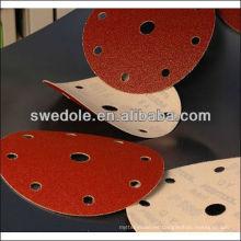 SATC - discos de arena de metal de buena calidad de 6 pulgadas / discos de lijado fabricante profesional