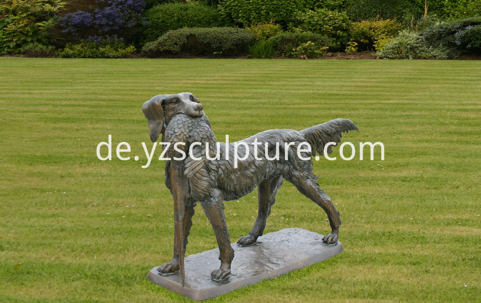 Classical-Bronze-Statues-Garden-rnaments-hunting-dog