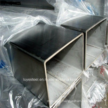 SUS 321 Stainless Steel Square Pipe Seamless Tube