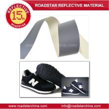 Высокий Серебряный светоотражающий ПВХ кожа для обуви