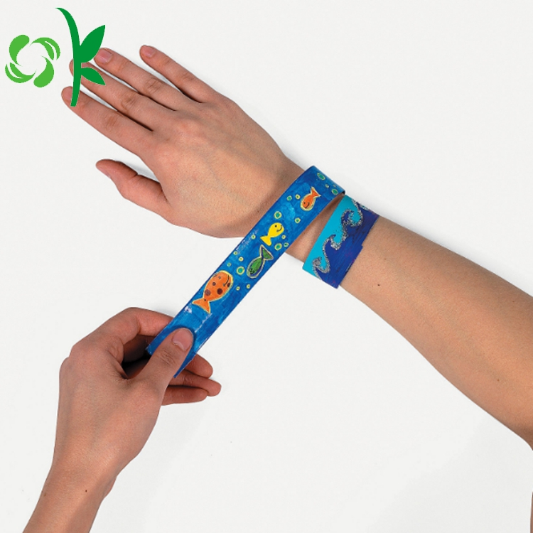 Silicone Cartoon Shape Slap Bracelet