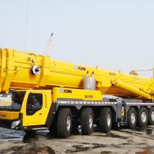 подъем крана 160 тонн тележки заграждения продажа кранов QAY160 вездеходные автокраны для продажи