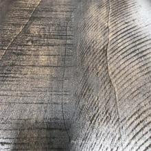 Papel de embalagem natural rachado da madeira da grão da pintura
