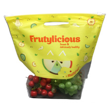 Made in China Food Grade Package Bag For Dried Fruit Stand up Pouch With Handle Gravure Printing
