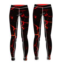 горячая продажа женщин йога брюки сжатия новые пользовательские йога брюки