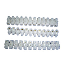 5A 4mm2 Terminal Block Plastic Terminal Blocks H/ U/ V Type PA PP PE