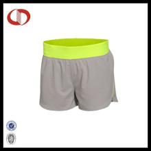 Atacado respirável mulheres Sports Wear Running Shorts