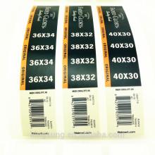 etiqueta feita sob encomenda clara da etiqueta do vinil da impressão feita sob encomenda direta da fábrica