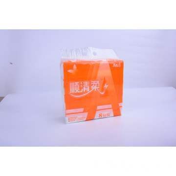 Virgin Wood Pulp White Facial Tissue Soft Pack