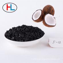 Carbono ativado do escudo de coco da recuperação da absorção do vapor da gasolina do automóvel