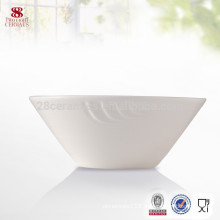 Hotel products plain white dinner set white porcelain bowl set