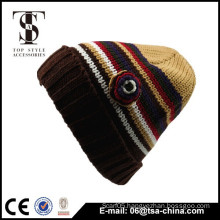 Factory directly new style spring winter 100% Acrylic Custom women Beanie