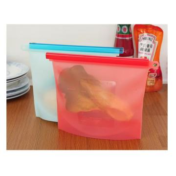 Beg Reusable Pouch Makanan Leak Proof Storage Seal Bag