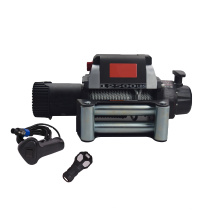 Powerful 12v 12500lbs steel cable electric winches