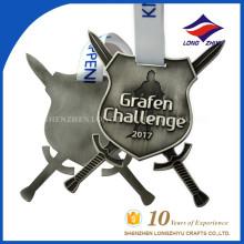 Warrior Award Medal 2017 Grafen Challenge Custom Gift Medal