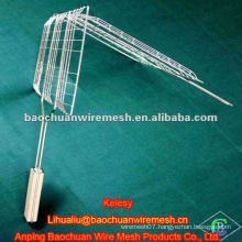 Silver galvanized barbecue wire mesh with reasonable price in store