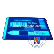 Compatible feature blue UV zebra p330i Evolis Eltron pebble ribbon