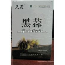 Чистый натуральный, органический и зеленый черный чеснок (500 г / коробка)