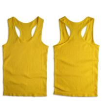 Seamless Rib Sporting Racerback Sexy Vest For Women