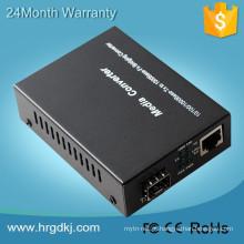Top seller LC SFP Conversor de Mídia 1000 M conversor de mídia 10g sfp módulo com CE, FCC, RoHs vida-longa manutenção
