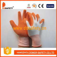 Nylon with Polyester Liner Latex Foam Glove Dnl212