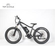 48V 500W 8Fun mid crank motor big fat tire hunting electric bike