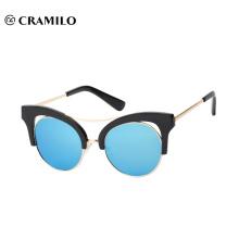 Cramilo cat eye hot selling mirror sunglasses