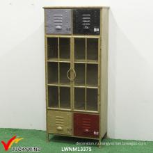 Старинные металлические шкафы ручной работы для хранения