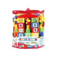 Plastic Toy Animal Building Block Toy (H8219048)
