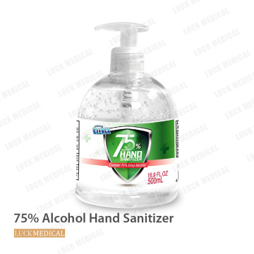 Gel desinfectante de manos desinfectante de manos suave 75% alcohol