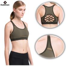 Crisscriss de nuevo sin costuras mujeres al por mayor gimnasio deportivo sujetador