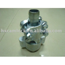 Ground joint couplings with interlock