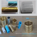 Copper Ball Retainer Bearing,High Precision bushing with steel balls,cold punching ball bush