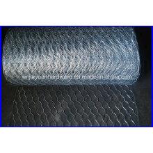 Venda quente 30m / rolo galvanizado rede de fio hexagonal