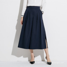Faldas de oficina formales largas sueltas de una línea para damas