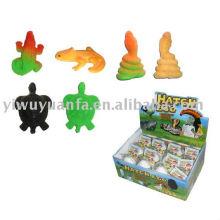 Wachsende schneckende Tier Ei Spielzeug