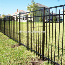 Aluminum metal fence posts / used wrought iron fencing for sale