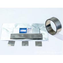 Matériel d'anode de l'alliage Li7B6 de bore de lithium pour la batterie thermique au lithium