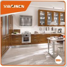 Diseño de moldes profesional muebles de madera maciza de muebles de cocina