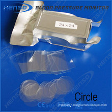 Henso circle microscope cover glass