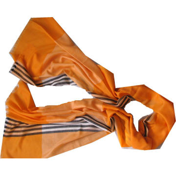 Mantón de rayas de cachemira