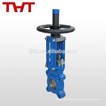 Wafer soft sealing knife gate valve service valve