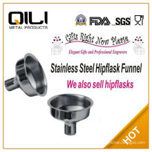 1oz Stainless Steel Hip Flask Funnel