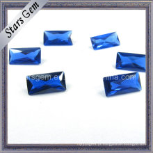 Definição de enceramento Rectangle Princess Cut 34 # Sapphire