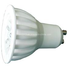 LED de alta potencia LED de cerámica GU10 3X1w Bulb Spot Down Light