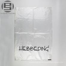 Clear printed custom made plastic shoe bags
