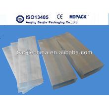 autoclave de qualité médicale papier / sacs à goussets