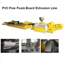 Linha de extrusão de placa de espuma livre de PVC LMSB80 / 156