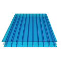 uv-protection fluorescent anti-drop fire proof anti-fog polycarbonate multi wall sheet/PC Hollow board used sunroom roofing