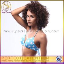 Free Ship Indian Black Girl pelucas de cabello humano pelucas estilos de pelo corto